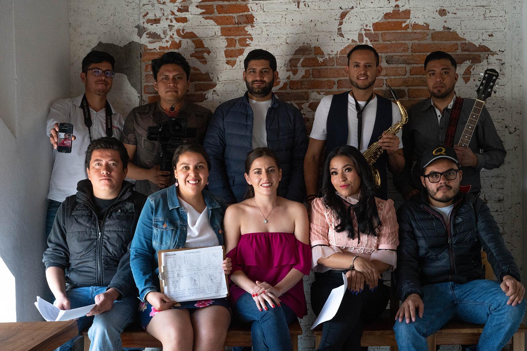 """Identidad Films Realiza el rodaje del videoclip """"El color de tus ojos"""" del artista iturbidense, Rafael Álvarez"""